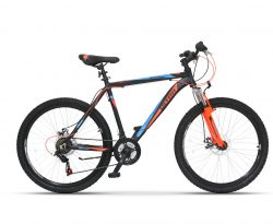 "Ultra MTB Agresor 26"" Black-Orange 480mm (260005)"